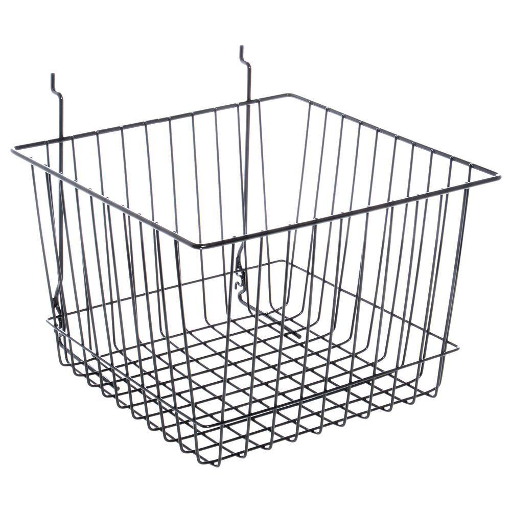 Black Wire Wall Baskets