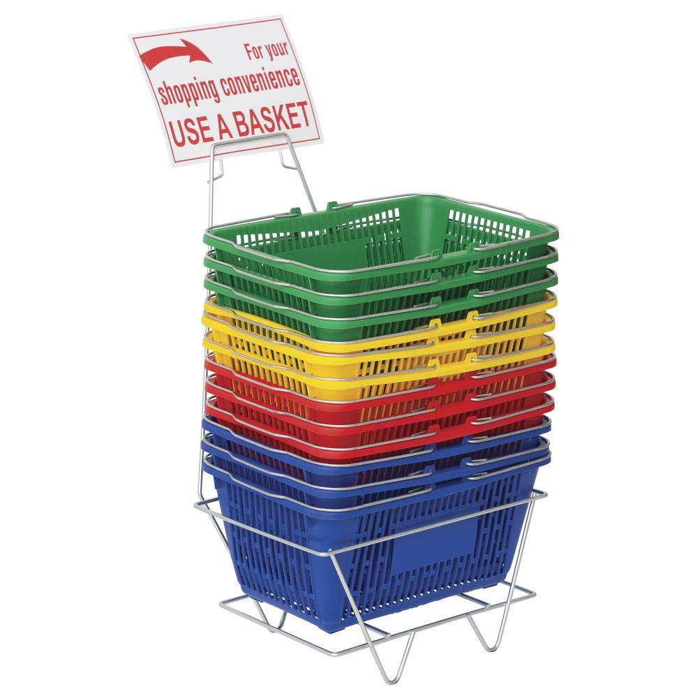 NEW Shopping Basket Set set of 5 Green