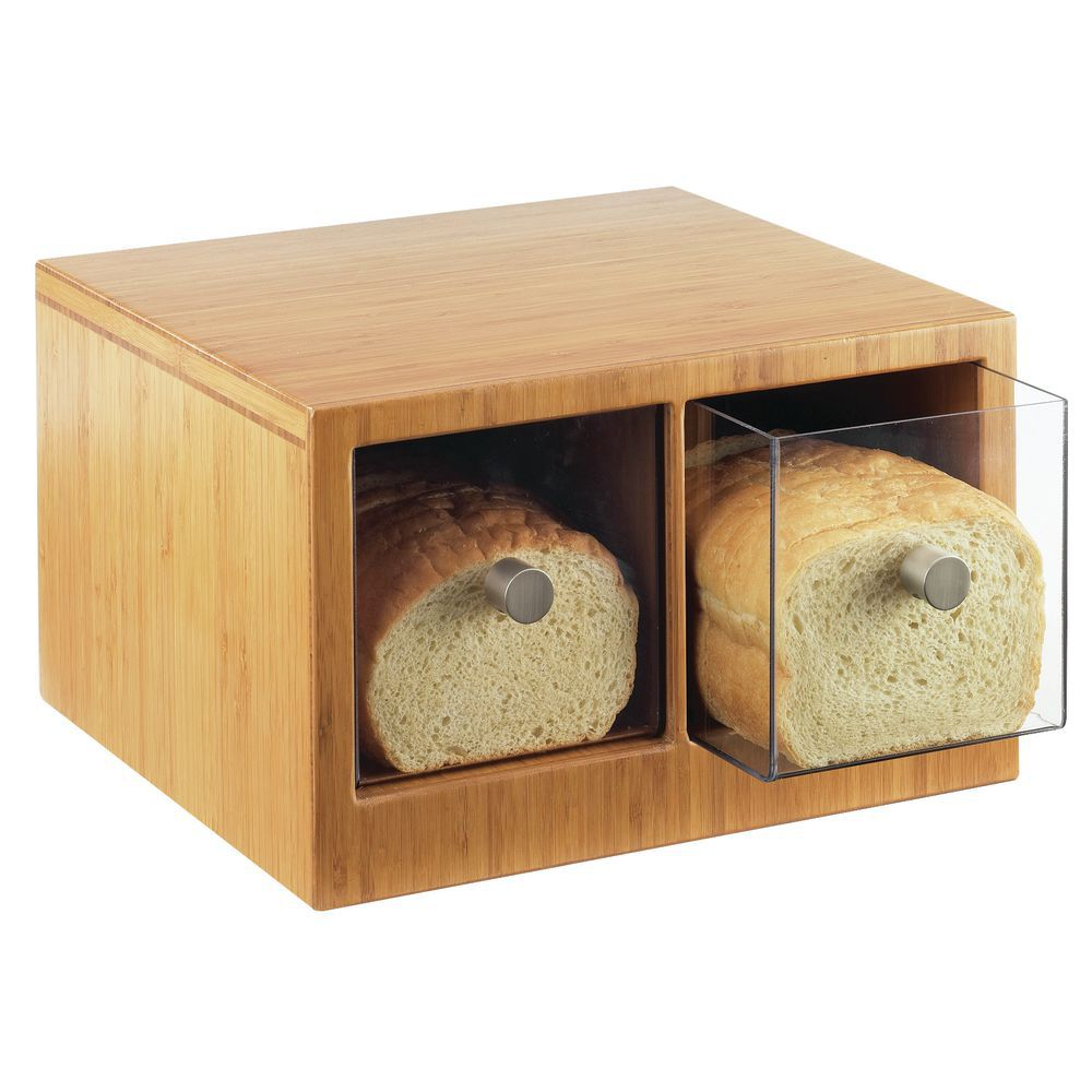 CASE, BREAD, BAMBOO, 2-DRAWER