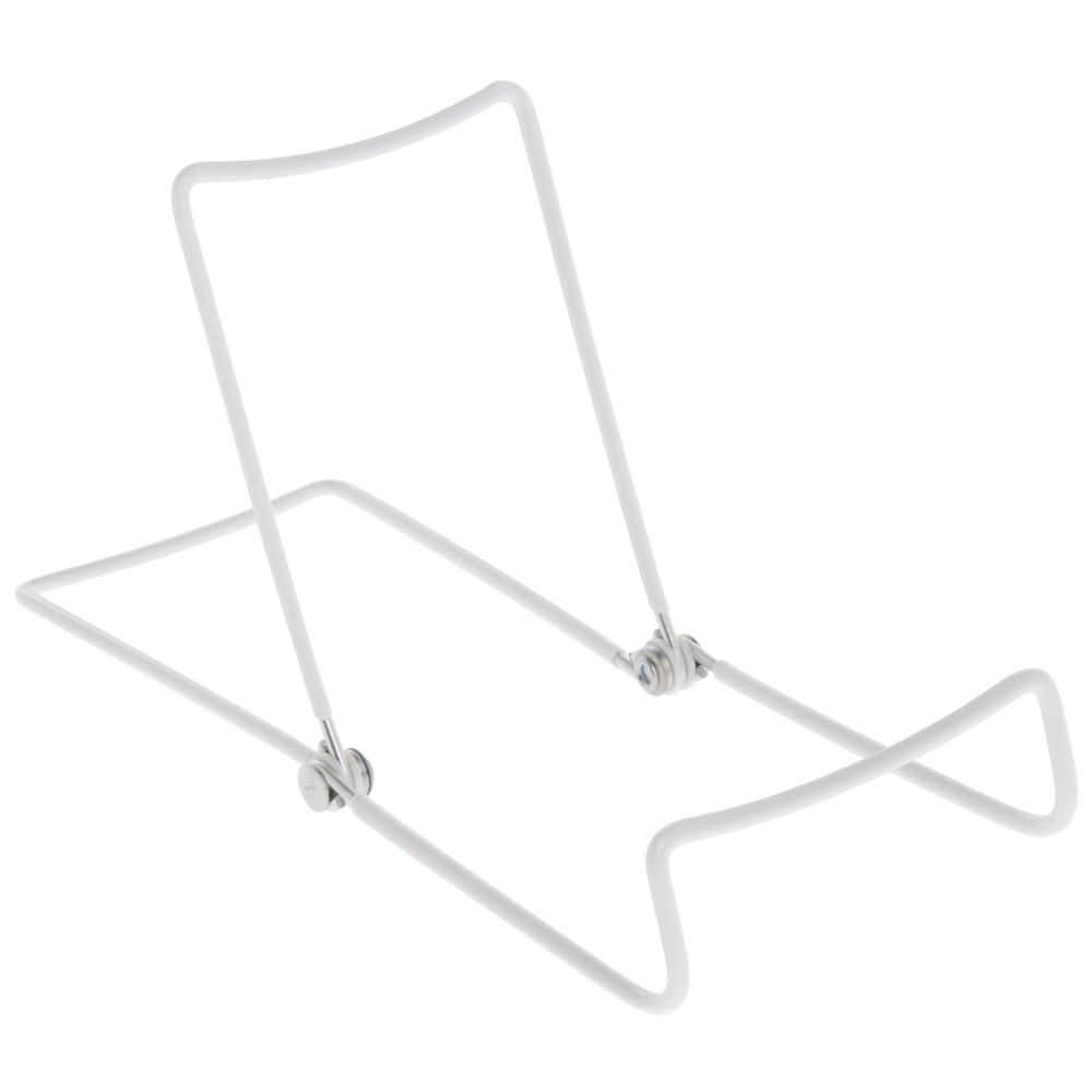Metal Easel Display Stand with Adjustable Wire Backing