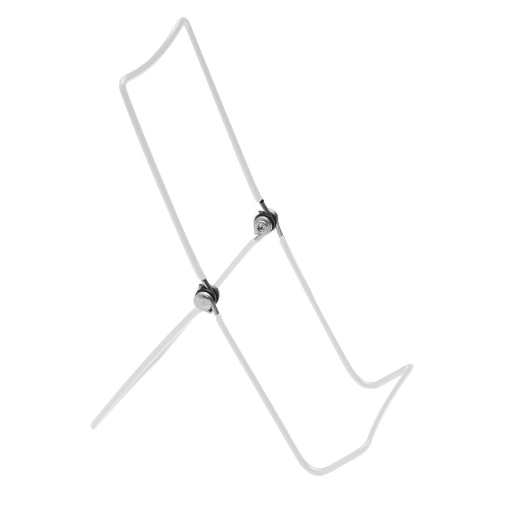 White Metal Easel Display Stand