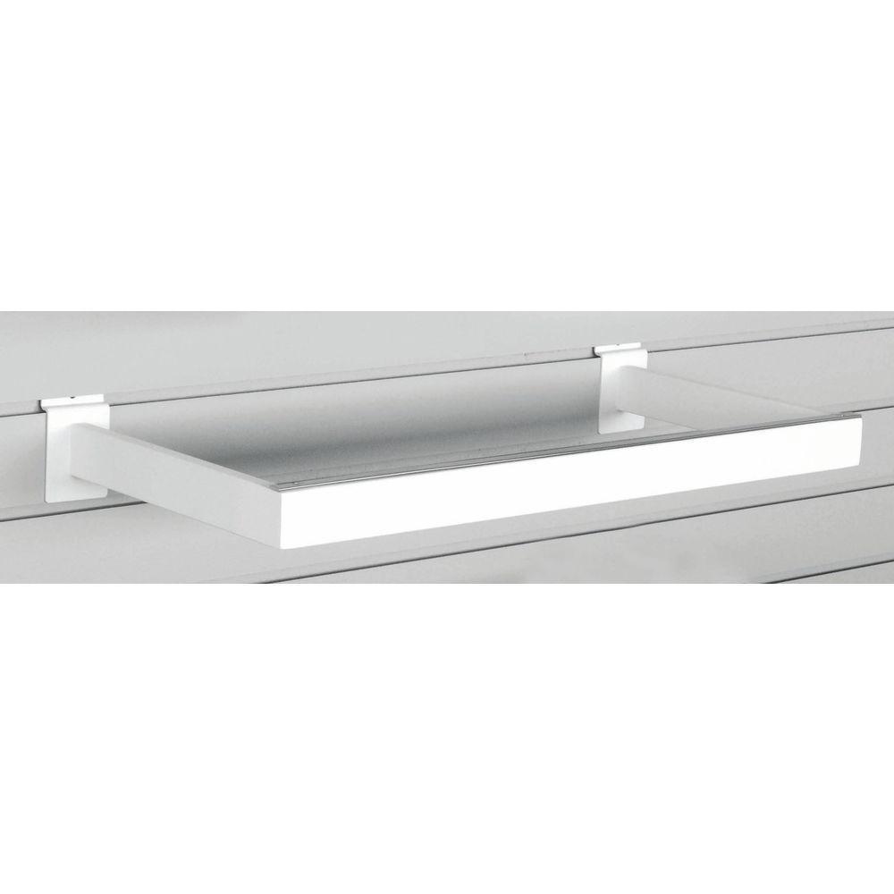 White U-Shaped Hangrail Has Rectangular Shaped Tubing