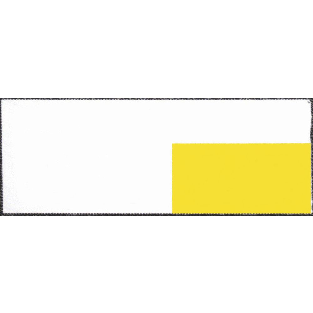 |3 1/4 x 1 1/4 Yellow Paper Shelf Tag Inserts