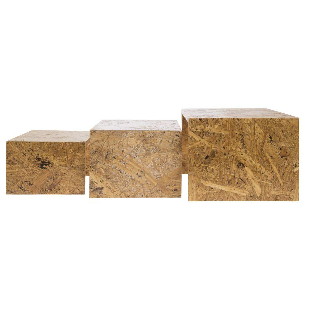 Wood Riser Set