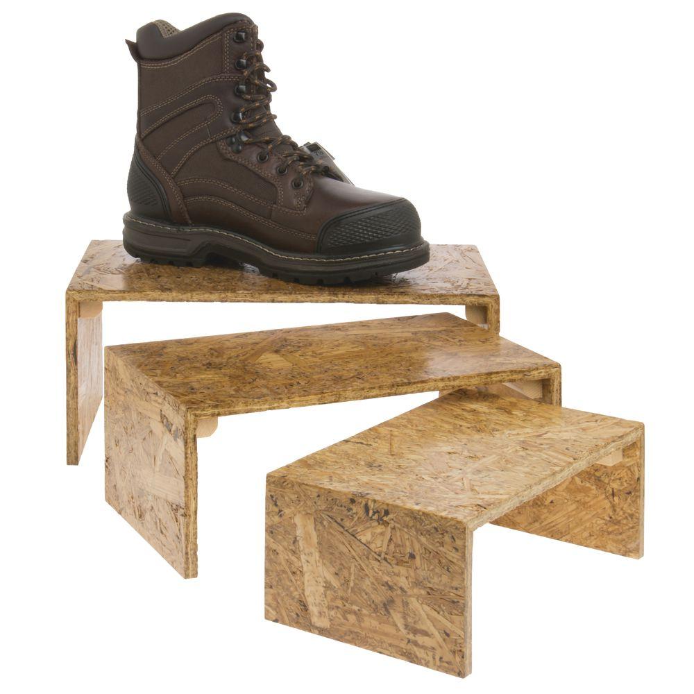 Wood Display Risers