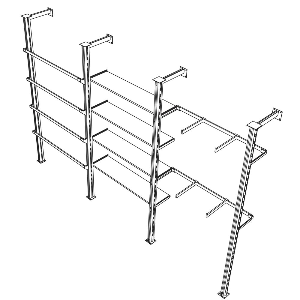 Pearl District Outrigger Shelf Brackets
