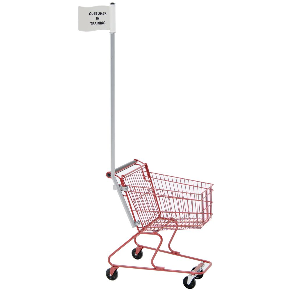 ANTI-THEFT FLAG FOR CHILD CART