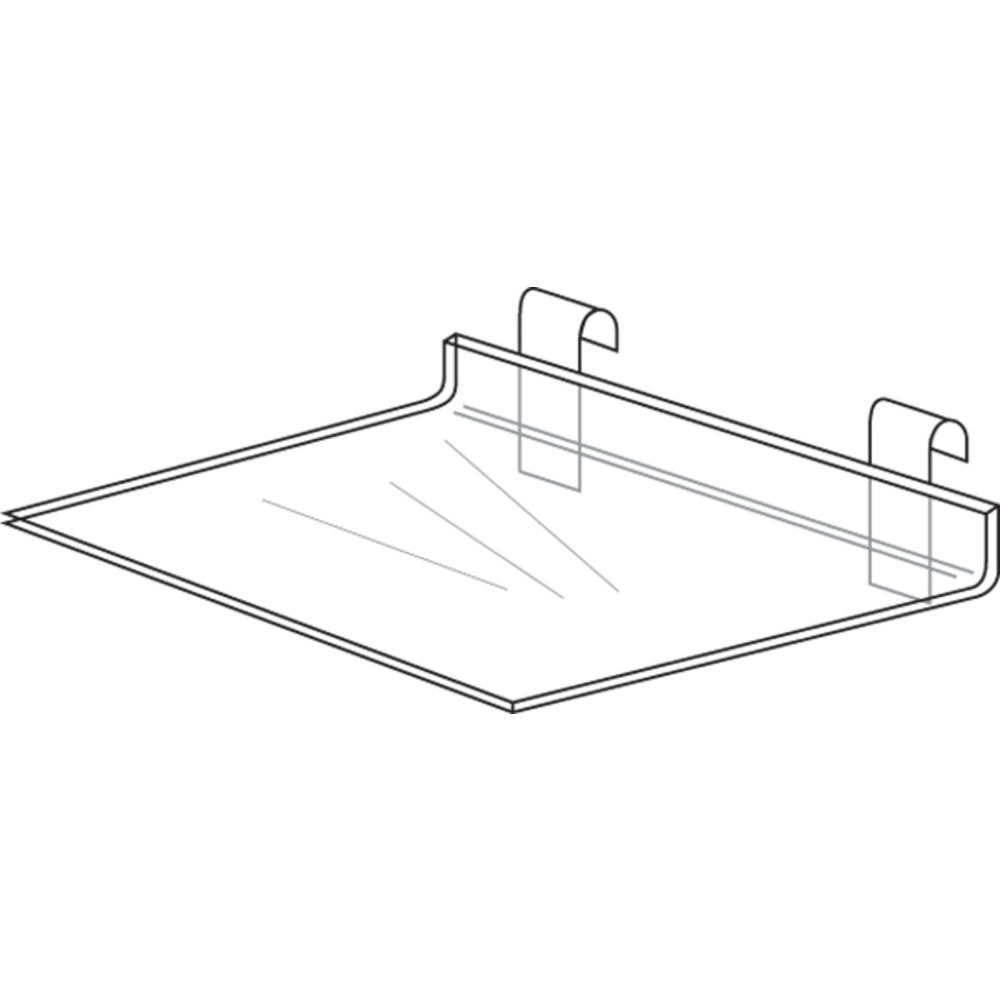 """16"""" x 8"""" Gridwall Shelf"""